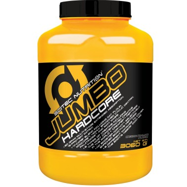 Scitec Nutrition Jumbo Hardcore 3060 gr Mega Mass gainer di Proteine in vendita su Nutribay.it