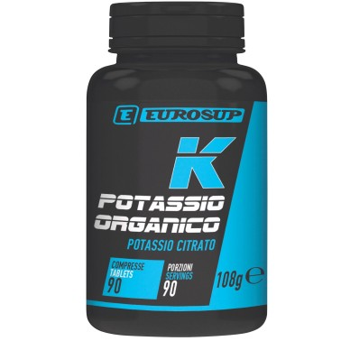 Eurosup Potassio Organico 90 cpr SALI MINERALI in vendita su Nutribay.it