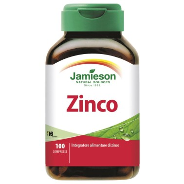 Jamieson Zinco 100 cpr. Integratore Alimentare Alto Dosaggio - SALI MINERALI in vendita su Nutribay.it