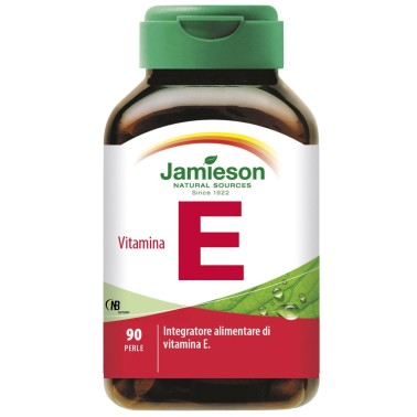 Jamieson Vitamina E 90 Perle Integratore Vitamine E Antiossidante in vendita su Nutribay.it