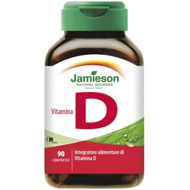 Jamieson Vitamina D 90 cpr. Integratore Vitamine D3 Ossa - VITAMINE in vendita su Nutribay.it
