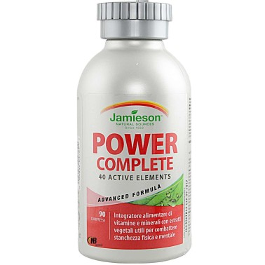 Jamieson Power Complete 90 cpr. Vitamine Minerali estratti 42 nutrienti BENESSERE-SALUTE in vendita su Nutribay.it