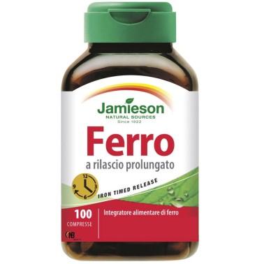 Jamieson Ferro a Rilascio Prolungato 100 cpr. Integratore Alimentare in vendita su Nutribay.it