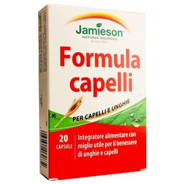 Jamieson Formula capelli unghie 20 cps Olio di Germe di Grano + B6 - BENESSERE-SALUTE in vendita su Nutribay.it