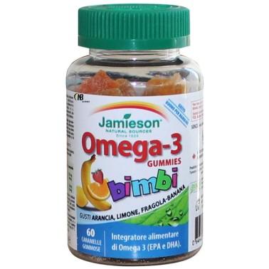 Jamieson Omega 3 Gummies 60 Caramelle per Bambini - OMEGA 3 in vendita su Nutribay.it