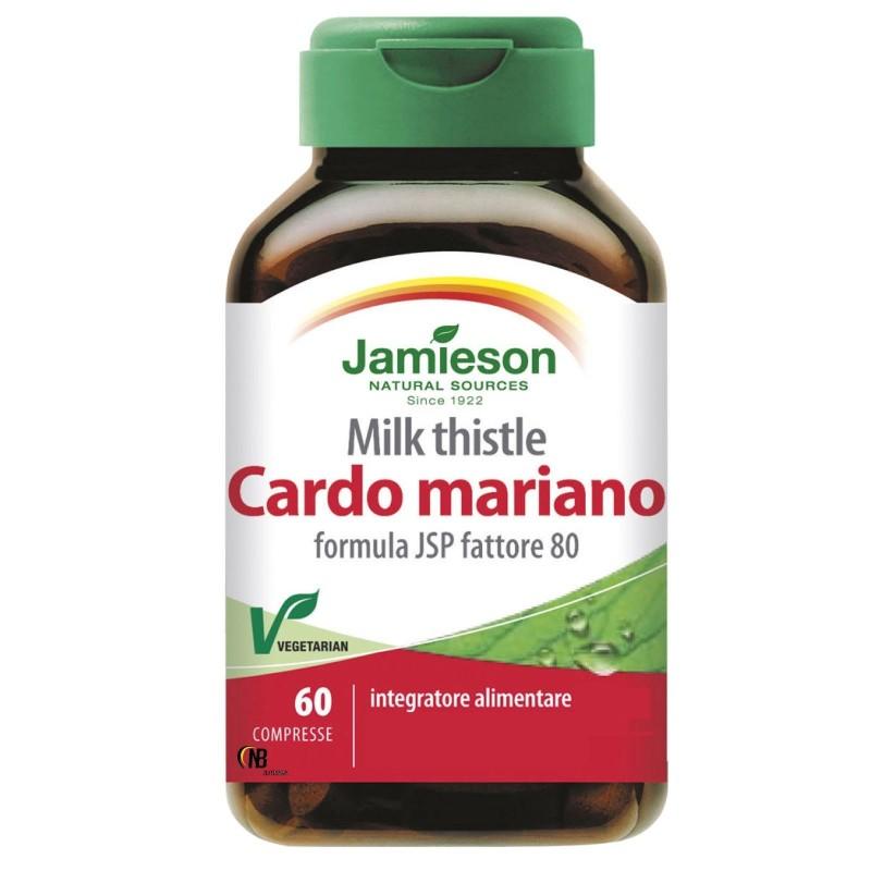 Jamieson Cardo Mariano 60 cpr Silimarina Depurativo per il Fegato in vendita su Nutribay.it