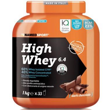Named Sport High Whey 6.4 1 Kg Proteine con Enzimi e Vitamine - PROTEINE - in vendita su Nutribay.it