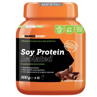 Named Sport Soy Protein 500 gr Proteine Isolate della Soia - PROTEINE - in vendita su Nutribay.it