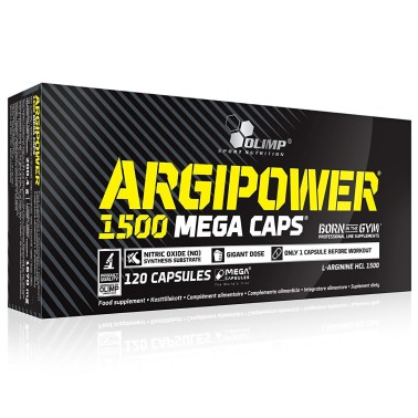 Olimp Argipower 1500 Mega Caps 120 capsule Arginina in vendita su Nutribay.it