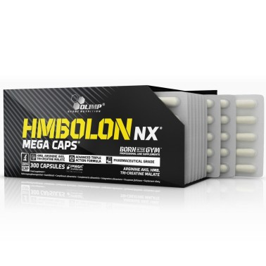 Olimp HMBolon Nx 300 caps Hmb Arginina Aakg e Tri-creatina malato in vendita su Nutribay.it