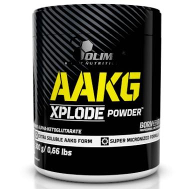 Olimp AAKG Xplode Powder 300 gr Arginina alfa-chetoglutarato Aromatizzata