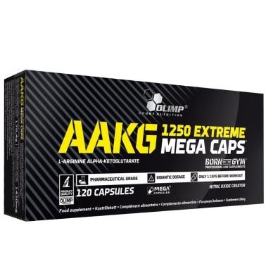 Olimp AAKG Extreme Mega Caps 1250 120 Arginina Alfa Cheto Glutarato