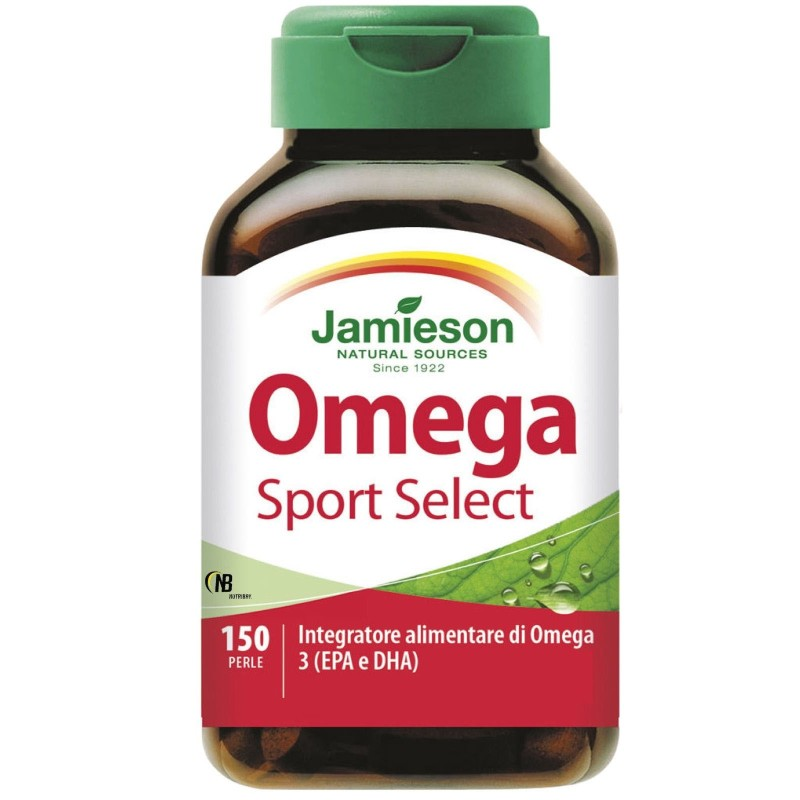 Jamieson Omega 3 Select SPORT 150 Perle Olio di Pesce + Vitamina E in vendita su Nutribay.it