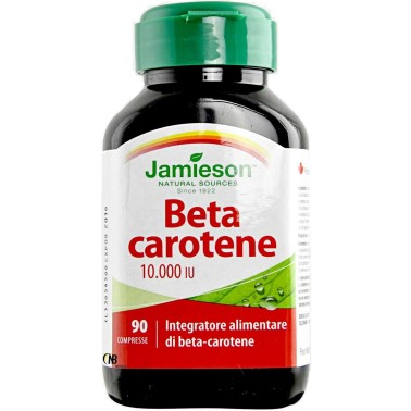 Jamieson Beta Carotene 90 cpr Integratore puro 100% 10000 IU in vendita su Nutribay.it