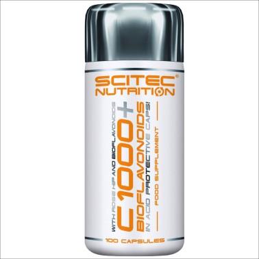SCITEC NUTRITION C 1000 + Bioflavonoids 100 cps Vitamina C con Bioflavonoidi in vendita su Nutribay.it