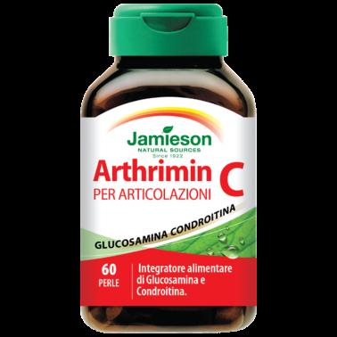 JAMIESON Arthrimin C 60 perle Glucosamina e Condroitina - BENESSERE ARTICOLAZIONI in vendita su Nutribay.it