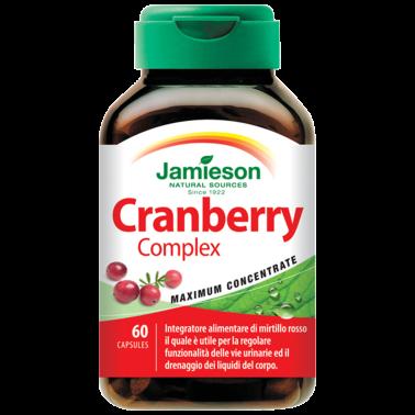 JAMIESON Cranberry Complex 60 caps Integratore di mirtillo rosso in vendita su Nutribay.it
