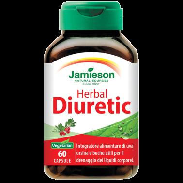 JAMIESON Herbal Diuretic 60 caps Diuretico Drenante in vendita su Nutribay.it