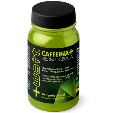 +WATT CAFFEINA+ STRONG CAFFEINA TAURINA E INOSITOLO ENERGETICO PRE ALLENAMENTO - CAFFEINA in vendita su Nutribay.it