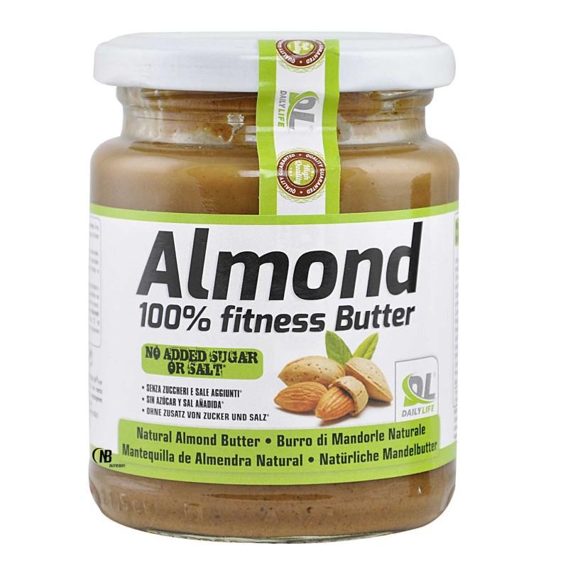 Almond DAILYLIFE Burro di Mandorle al Naturale 250 gr. Ricco di Polifenoli e Omega 3 6 in vendita su Nutribay.it