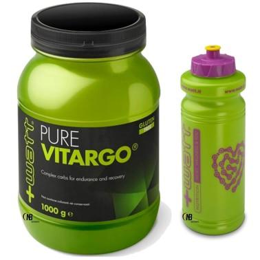 +Watt Pure Vitargo 1000 gr 1kg Carboidrati Complessi Rapidi + BORRACCIA in vendita su Nutribay.it