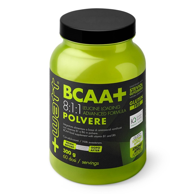 +Watt Bcaa+ 300gr Aminoacidi Ramificati 811 8:1:1 polvere Kyowa + Vitamine b1 b6 - AMINOACIDI BCAA 8.1.1 - in vendita su Nutr...