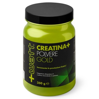 +WATT CREATINA GOLD powder 350gr.MONOIDRATO PURISSIMA IN POLVERE recupero atp - CREATINA - in vendita su Nutribay.it