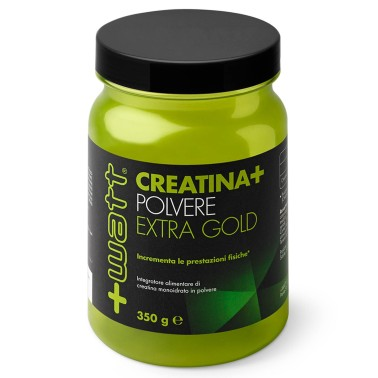 +WATT CREATINA EXTRA GOLD MONOIDRATO polvere 350gr qualita' purissima CREAPURE - CREATINA in vendita su Nutribay.it