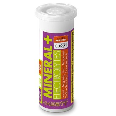 +watt - Mineral + Electrolytes 10 Compresse magnesio vitamine potassio minerali - SALI MINERALI in vendita su Nutribay.it