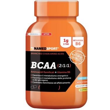 NAMED Sport BCAA 2:1:1 300 cpr. Aminoacidi Ramificati con Vitamina b6 - AMINOACIDI BCAA - in vendita su Nutribay.it