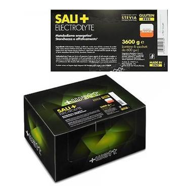+WATT SALI+ Electrolyte 6x600 gr. Sali Minerali Magnesio Potassio Maltodetrine in vendita su Nutribay.it
