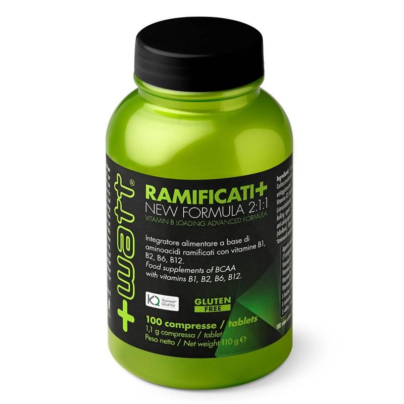 +Watt Ramificati+100 Aminoacidi Ramificati BCAA Advanced Formula KYOWA VITAMINE in vendita su Nutribay.it