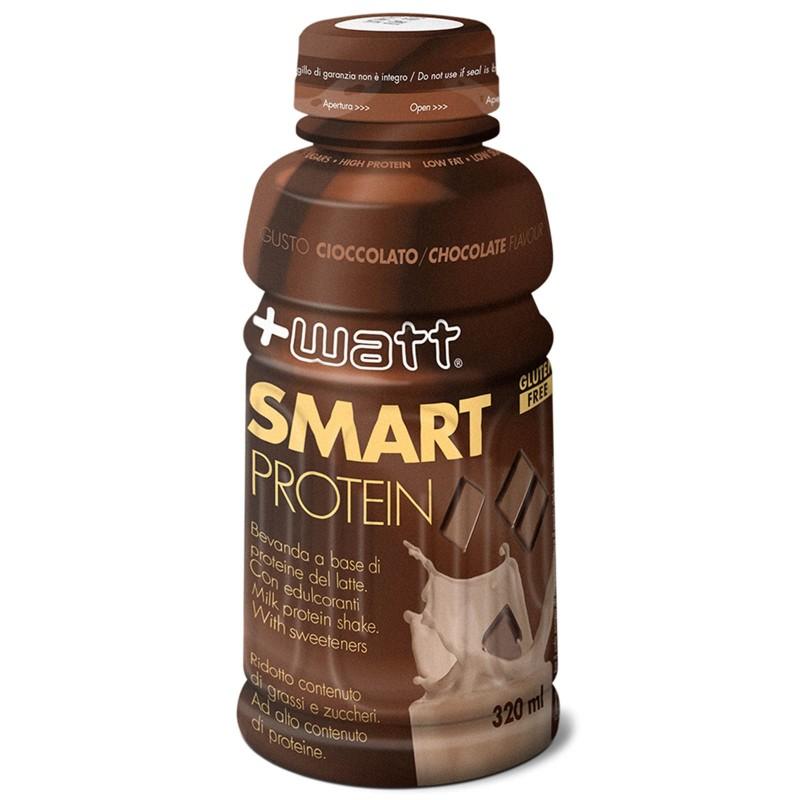 +Watt Smart Proteins 12 bevande da 320ml a base di proteine del latte aminoacidi in vendita su Nutribay.it