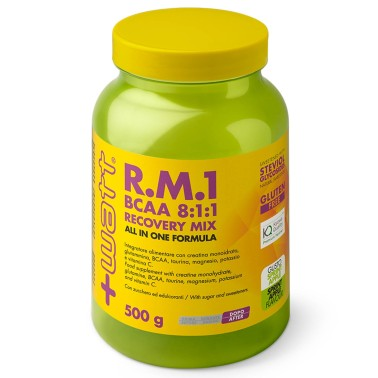 +Watt RM1 post allenamento con aminoacidi BCAA 8:1:1 taurina potassio creatina in vendita su Nutribay.it