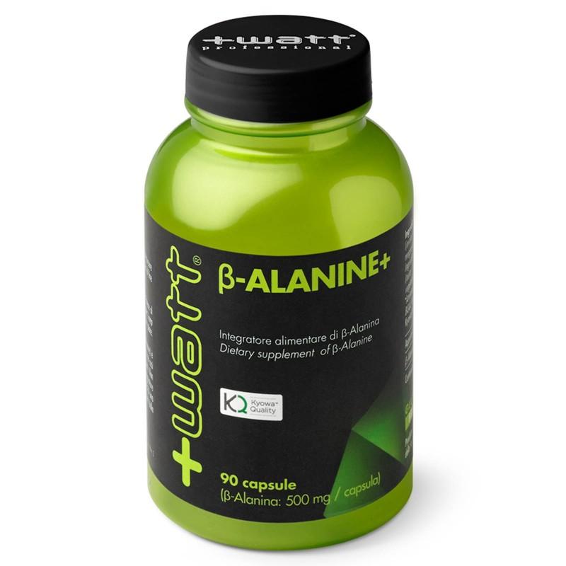 +Watt - beta alanine+ alanina RIDUCE L'ACIDO LATTICO ANTIOSSIDANTE per recupero in vendita su Nutribay.it