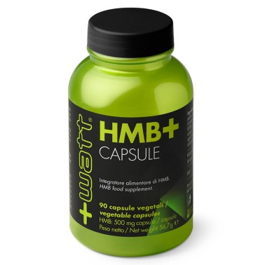 +Watt - HMB+ Beta idrossi beta metil butirrato aminoacidi ANTICATABOLICO