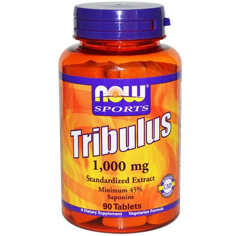 NOW FOOD TRIBULUS TERRESTRIS 1000mg 90 cps Tonico stimolante Testosterone Uomo in vendita su Nutribay.it