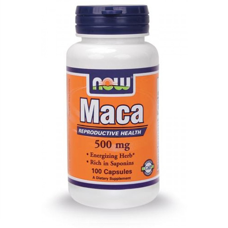 NOW FOODS Maca 100 cps Maca Andina Forte Tonico Energetico Libido Uomo / Donna in vendita su Nutribay.it