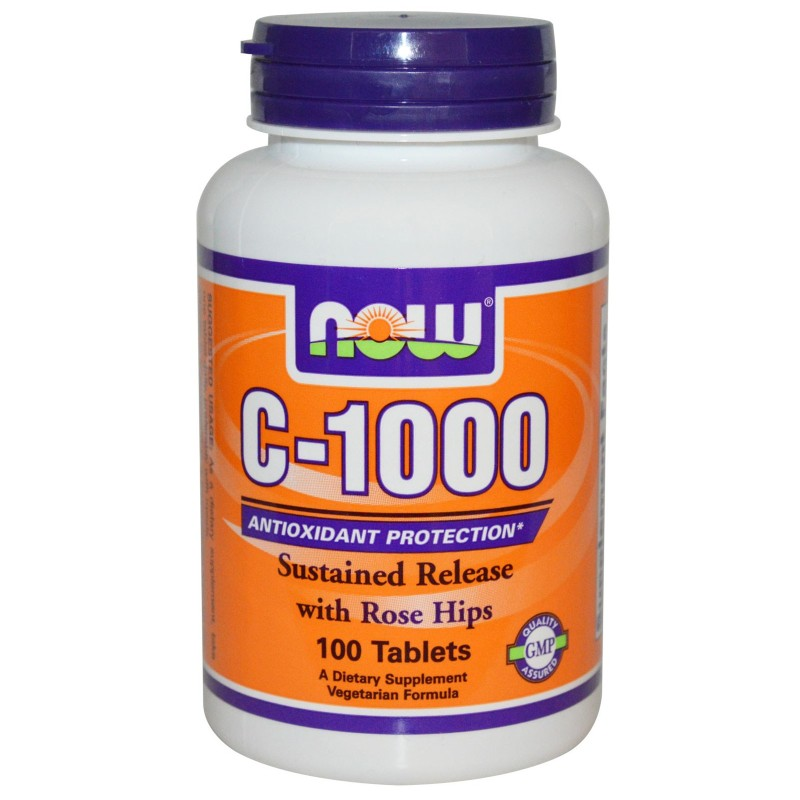 NOW FOODS Multivitaminico C 1000 Integratore Vitamina C con Bioflavonidi in vendita su Nutribay.it