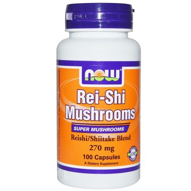 NOW FOODS Rei-Shi 100 cps 270 mg. Reishi Ganoderma Lucidum Difese Immunitarie in vendita su Nutribay.it