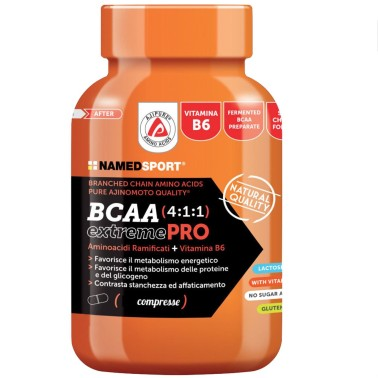 Named Sport BCAA Extreme PRO 4:1:1 210cpr Aminoacidi Ramificati 411 con Vitamine in vendita su Nutribay.it