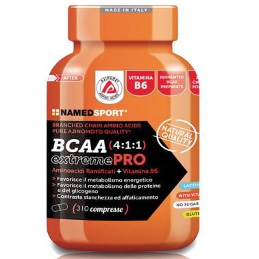 Named Sport BCAA Extreme PRO 4:1:1 310cpr Aminoacidi Ramificati 411 con Vitamine in vendita su Nutribay.it