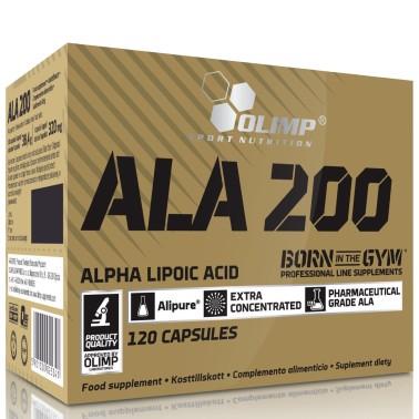 OLIMP ALA 200 120 Caps  Acido alfa lipoico