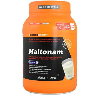 NAMED Sport MaltoNam 1 Kg Matodestrine con Carnitina e vitamine CARBOIDRATI - ENERGETICI in vendita su Nutribay.it