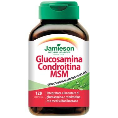 Jamieson Glucosamina Condroitina Msm 120 cpr. Salute Articolazioni in vendita su Nutribay.it