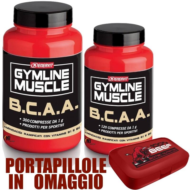 Enervit Gymline Muscle Bcaa 300 + 120 Aminocidi Ramificati + Vitamine B in vendita su Nutribay.it