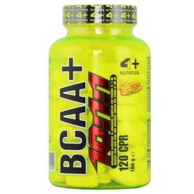 4+ Nutrition BCAA 10:1:1 240 cpr. Aminoacidi Ramificati con Leucina 10 1 1