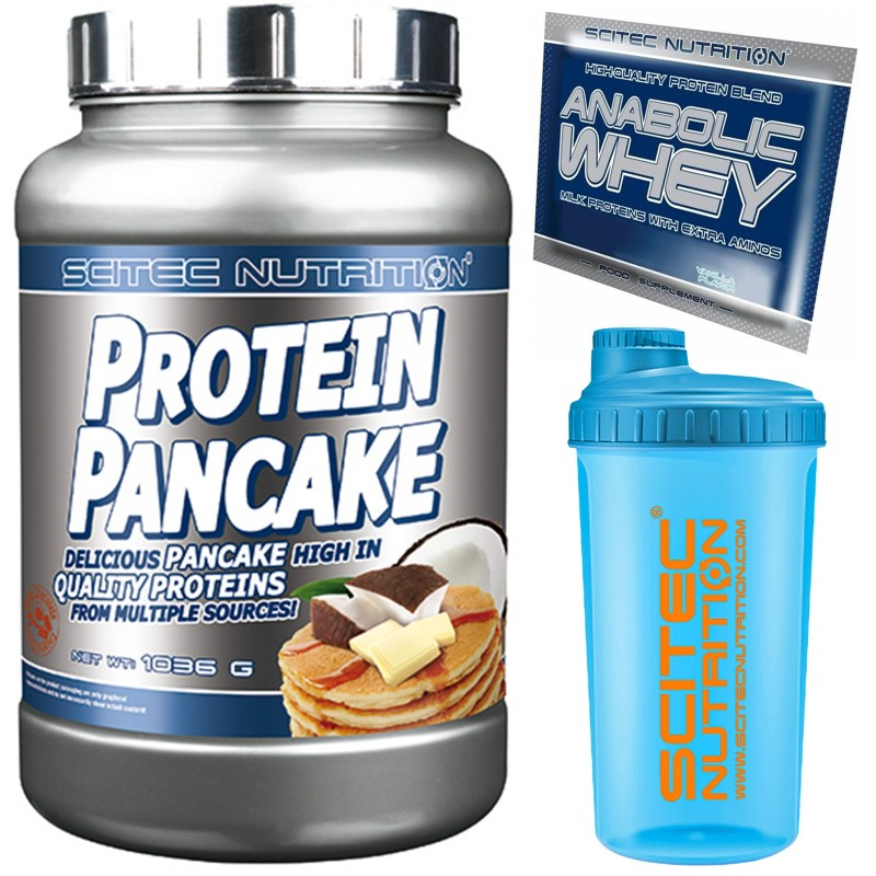 Scitec Nutrition Protein Pancake 1036 gr. Preparato Proteico in polvere + WHEY in vendita su Nutribay.it