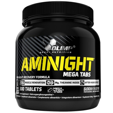 OLIMP Aminight Mega Tabs 300 cpr Aminoacidi per la Notte - POST WORKOUT COMPLETI in vendita su Nutribay.it