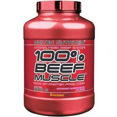 SCITEC NUTRITION 100% Beef Muscle 3,18 kg Mass Gainer con Proteine della carne in vendita su Nutribay.it